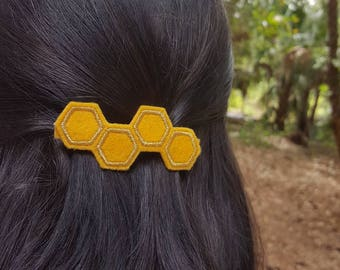 Honey Comb Barrette
