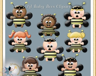 Lil Baby Bees Clipart