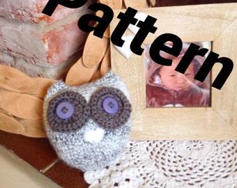 Cute Crochet Owl Pattern