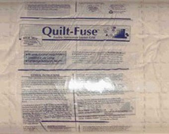Grid Interfacing, Quilt Fuse 2-Inch Grid Interfacing White # HTC3240-1, 48in x 36in (Priced by the Yard)