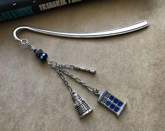 Doctor Who (Tardis Dalek Sonic Screwdriver) Bookmark
