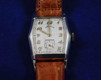 Vintage 21 Jewel Lord Elgin Wrist Watch Running 14 kt gold