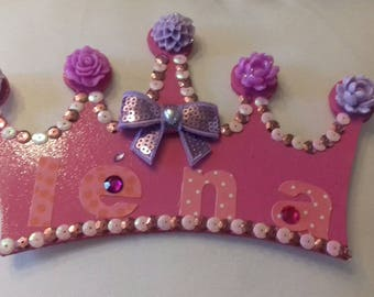 Cute personalized Princess lena Crown