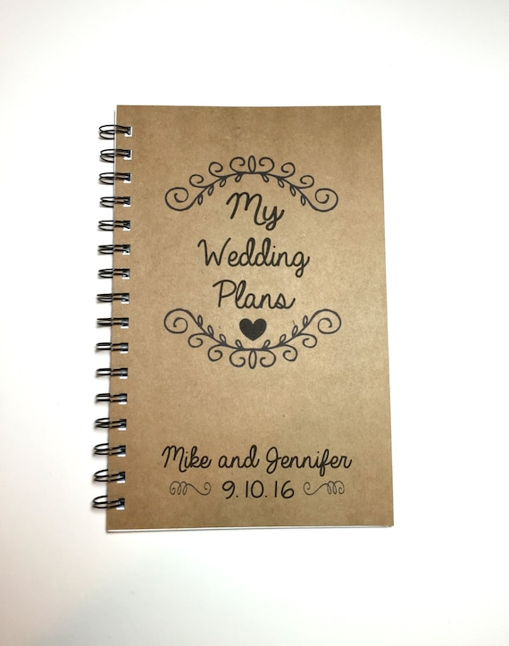 My wedding plans wedding plan book wedding ideas custom junglespirit Image collections
