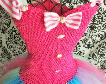 Candy Themed Dress/Candy Tutu/Candyland Adult Dress/Women's Dresses/Candyland Party/Candyland Dress/Birthday Dress/Adult Halloween Costume
