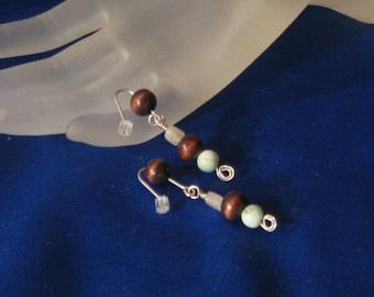 Glenna Earrings. Warm, rustic -- beautiful!
