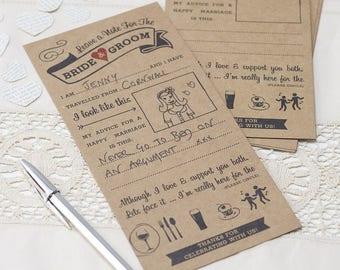 wedding trivia cards