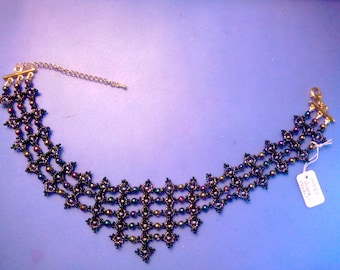 Bead weaving, seed beads