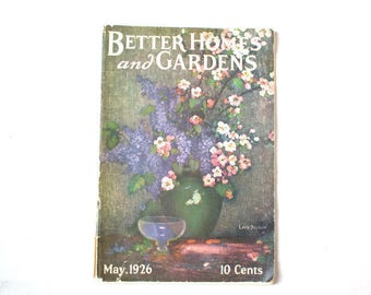 1926 Better Homes and Gardens Magazine