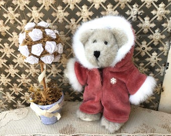 """Adorable Little Boyds Bears """"Maddie Frostbeary"""" Baby Bear"""