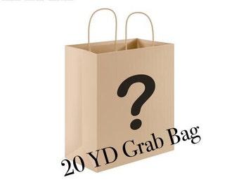 20 YD Surprise Ribbon Remnant Grab Bag