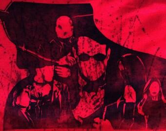 Daredevil T-Shirt - Hand-Printed - Linocut Block Print