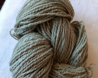 Olives Dyed yarn, 8 ply, Merino 100%, Hand spun, Hand dyed