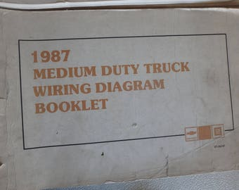 1987 chevrolet medium duty truck electrical diagnosis and diagrams