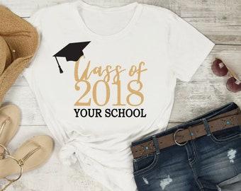 Class of 2018 svg Grad Graduation '18 Grap Cap Tassle University High school School  Cutting File, PNG, dfx, Cricut, Silhouette, Cut Files