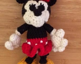 Amigurumi Minnie Mouse