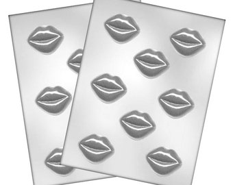 Lips Chocolate Molds - Baking Chocolate Candy Making Craft Party Supplies