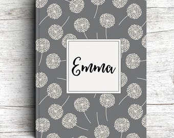 Journal, Keepsake Journal , Floral, Guest Book, Personalized, Baby Gift, Baby Shower, Pregnancy Journal, Baby Journal