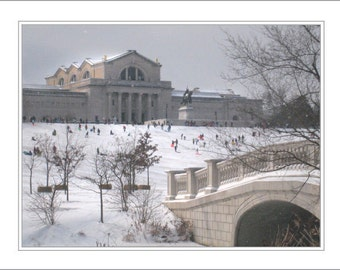 Bridge, Art Museum & Sledders, Forest Park
