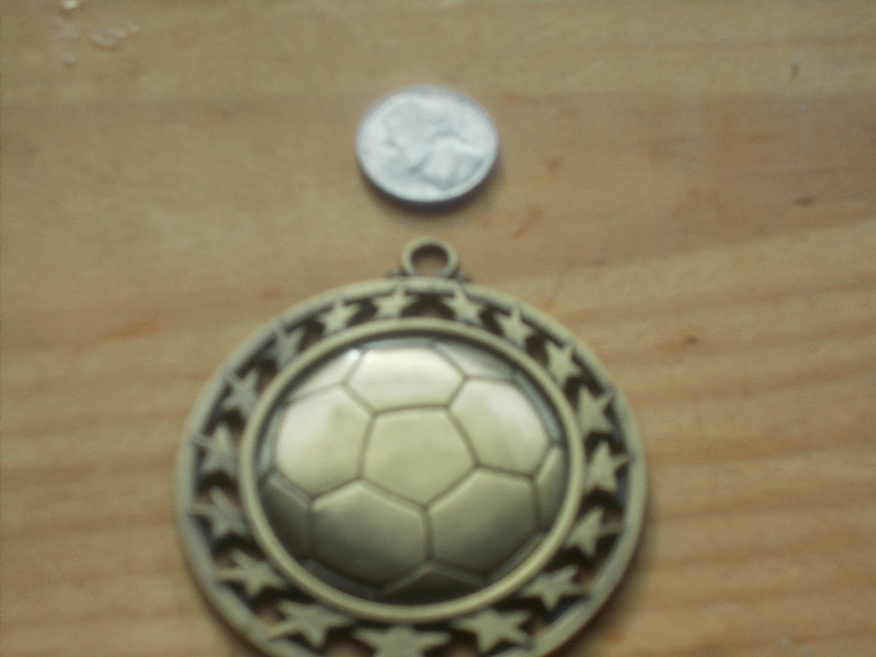 and fancy necklace both on sides soccer childrens your sided double mom pendant personalized custom name number
