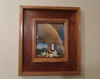 custom wood frame to fit 8x10 photo