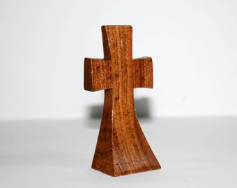 Hand-carved Small Wooden Cross