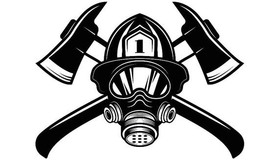 firefighter logo 14 firefighting helmet mask axes fireman rh etsy com firefighter logo svg firefighter logo sunglasses