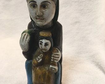 Virgin Mary and Jesus Santos