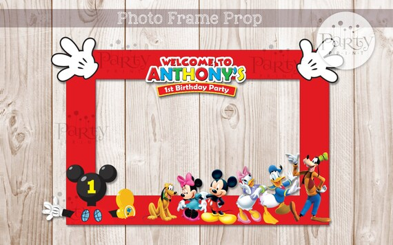 Print it yourself digital copy mickey mouse clubhouse print it yourself digital copy mickey mouse clubhouse inspired diy photo frame propno physical item will be shipped solutioingenieria Gallery