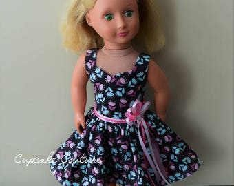 Fits American Girl Doll Dress