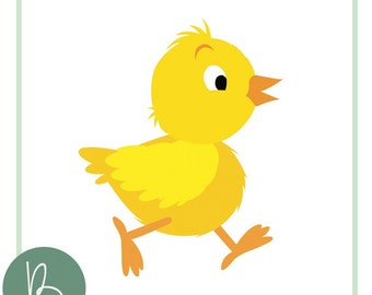 Baby Chick SVG File