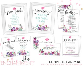 LipSense Business Card Bundle. LipSense Bundle. SeneGence Bundle. FULL Party Pack. LipSense Display. Tips Card. PURPLE FLORAL.