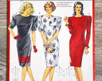 Pouch 5384 Burda sewing pattern - dress