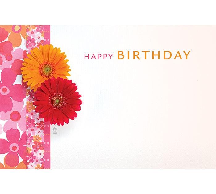 50 fun flowers happy birthday print florist blank zoom bookmarktalkfo Choice Image