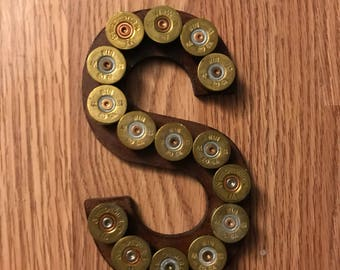 Mini Shotgun Shell Letter