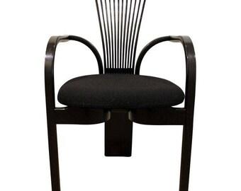 "Mid-Century Dining Chair Danish Modern Scandinavian Torstein Nilsen Westnofa ""Totem"" Chair"