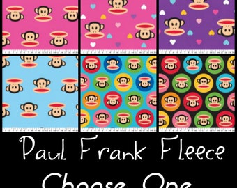 Paul Frank Fleece Fabric