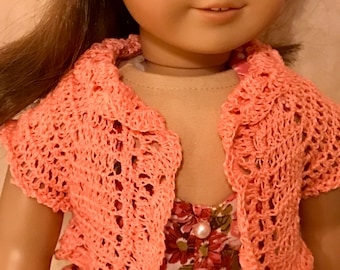 CROCHETED DOLL SWEATER