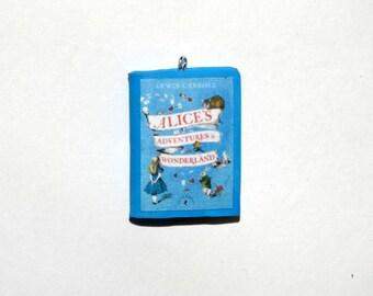 Alice in Wonderland Mini Book Charms