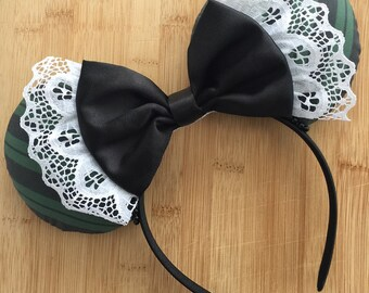 DUAL SIDED Haunted Mansion Inspired Ears, Haunted Mansion Ears, Halloween Ears, Minnie Ears, Disney Ears, Haunted Mansion Mouse Ears