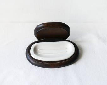 Ceramic soap dish designed by Makio Hasuike-Roberta collection-Made in Italy-Vintage soap dish-Japan designed