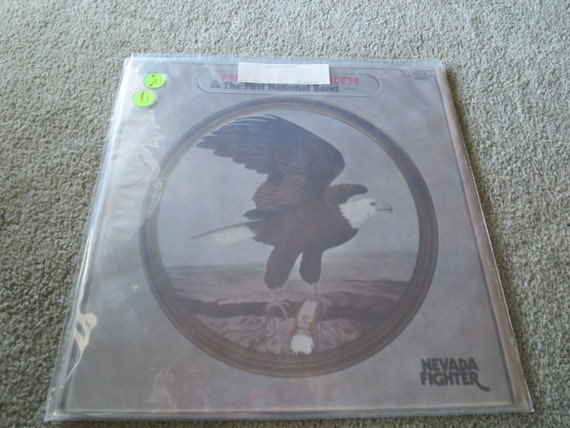 David Jones Personal Collection Record Album - Michael Nesmith & The First National Band - Nevada Fighter (Uruguay)