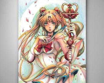 Sailor Moon // Art Print // Illustration