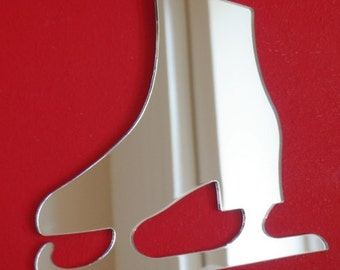Ice Skate Shaped Mirrors - 5 Sizes Available