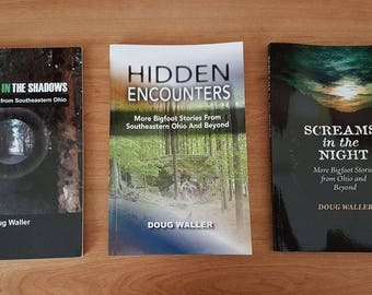 Bigfoot Books by Doug Waller... Three Books to choose from!