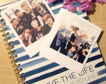 BTS groupe Polaroid jeu