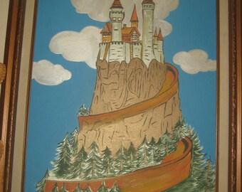 Hilltop Castle Painting