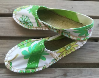 Cloth shoes, women's Espadrilles, Handmade shoes, Espadrilles, espadrilles, Moccasins, women's shoes, women's Slip Ons, Custom Espadrilles