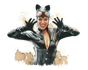 FAN ART - Print Catwoman - various sizes (on request)