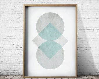Pastel Prints Geometric Art Geometric Prints Wall Art Prints Modern Prints Geometric Decor